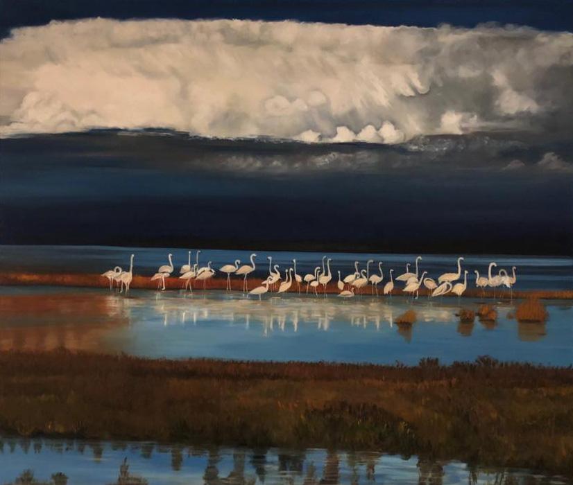 Flamingos_Namibien